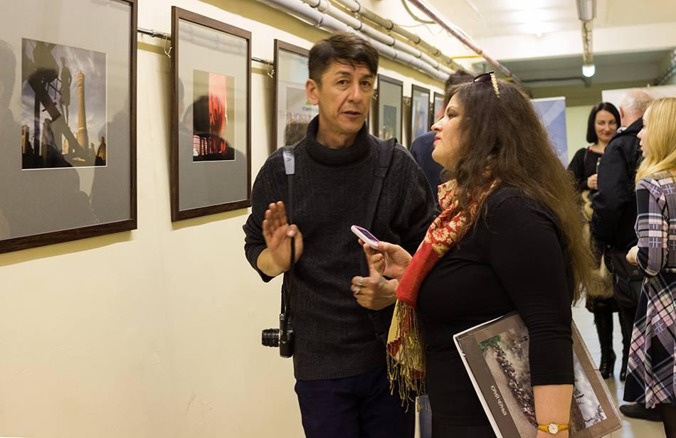 В НПО «Криста» открылась выставка одного из ста лучших фотографов мира